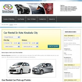 Borneo Express Car Rental