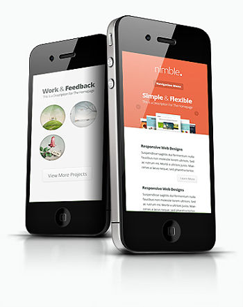 responsive mobile website from KK web design